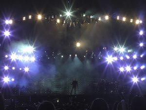 Concierto Ricky Martin Bolivia sonido Mediterraneo