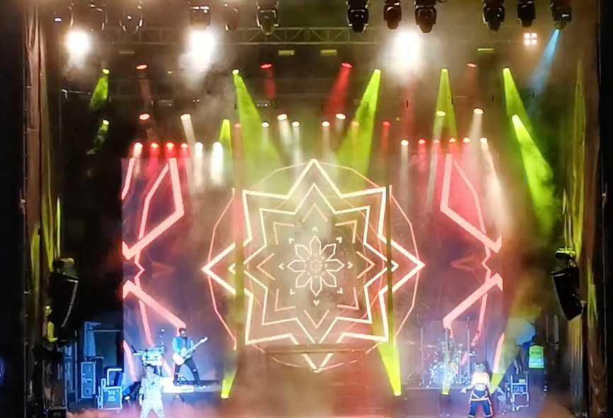 Rombai break the ice festival Cochabamba Bolivia