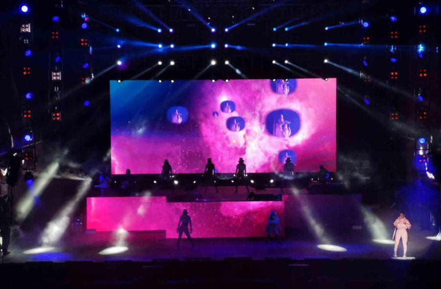 Karol G concierto cochabamba bolivia festival non stop the madness 2020